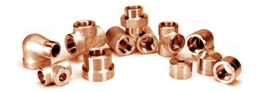 ASTM B381 Cupro Nickel 90/10 Forged Fittings Manufacturer