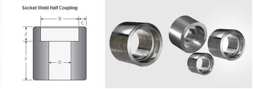 ASME B16.11 Socket Weld Half Coupling Manufacturer