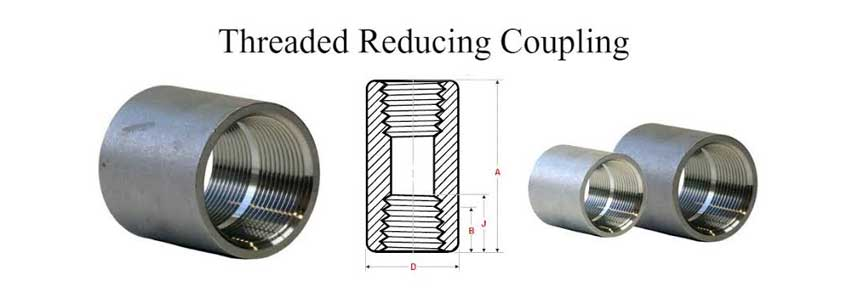 ASME B16.11 Screwed / Threaded Reducing Coupling Manufacturer
