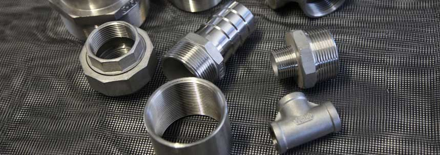 ASTM A182 SS 304L Threaded Forged Fittings Manufacturer