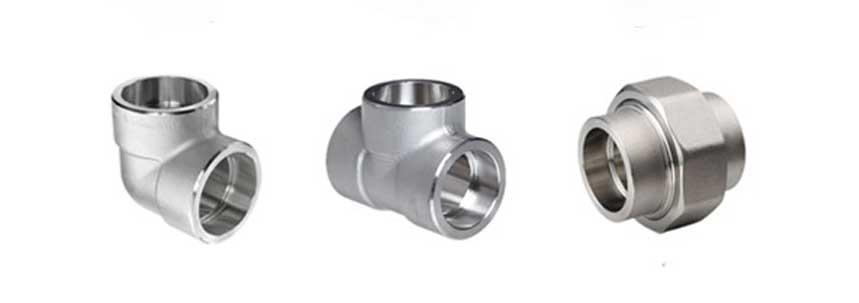 ASTM A182 SS 316/316L Socket Weld Fittings Manufacturer