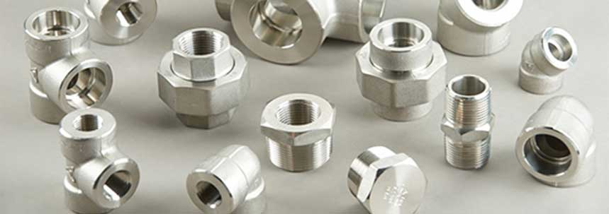 ASTM A182 SS 317 Threaded Forged Fittings Manufacturer