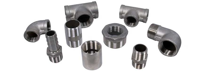 ASTM A182 SS 317L Threaded Forged Fittings Manufacturer