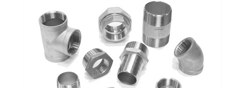 ASTM A182 SS 347 Threaded Forged Fittings Manufacturer