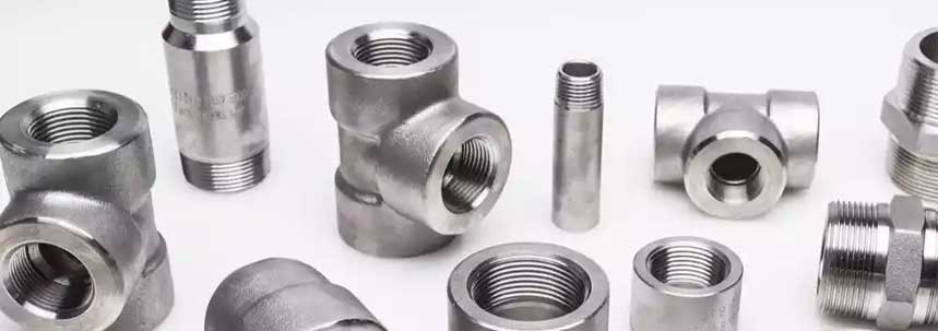 ASTM A182 SS 410 Threaded Forged Fittings Manufacturer