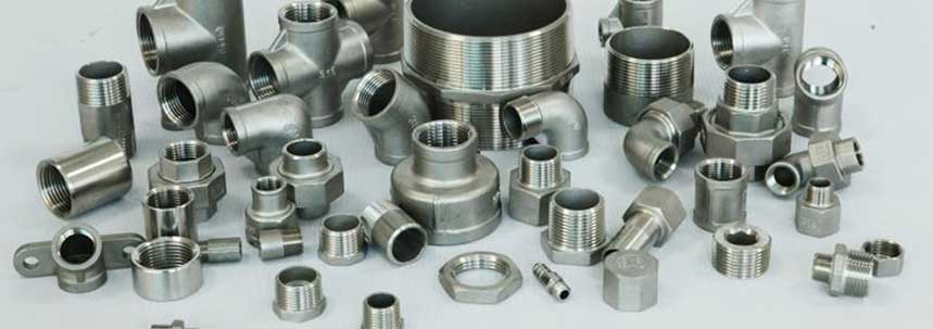 ASTM A182 SS 904L Threaded Forged Fittings Manufacturer